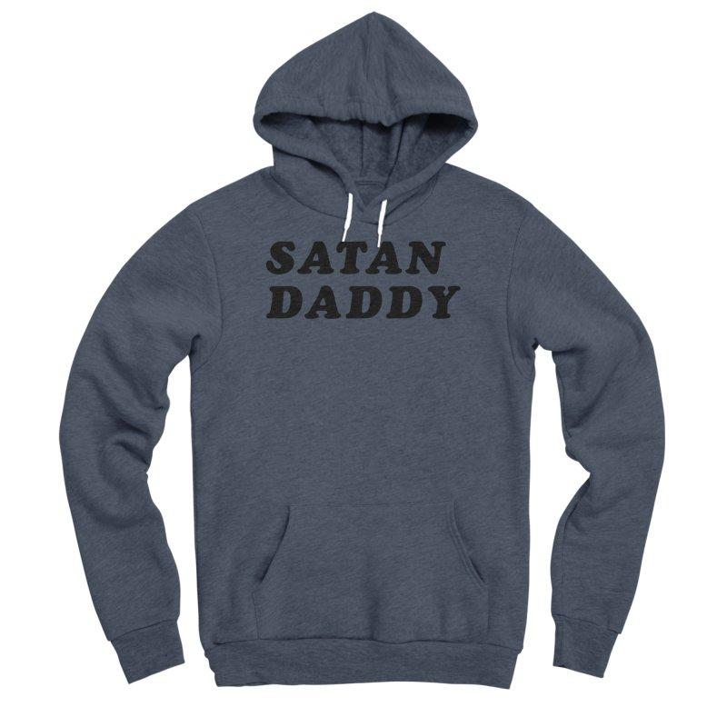 SATAN DADDY (blk) Women's Sponge Fleece Pullover Hoody by VOID MERCH