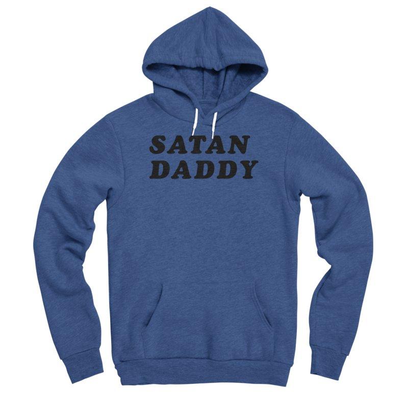 SATAN DADDY (blk) Men's Sponge Fleece Pullover Hoody by VOID MERCH