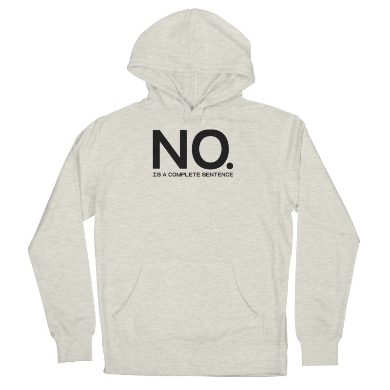 NO. Is a complete sentence.(blk lrg) Women's French Terry Pullover Hoody by VOID MERCH