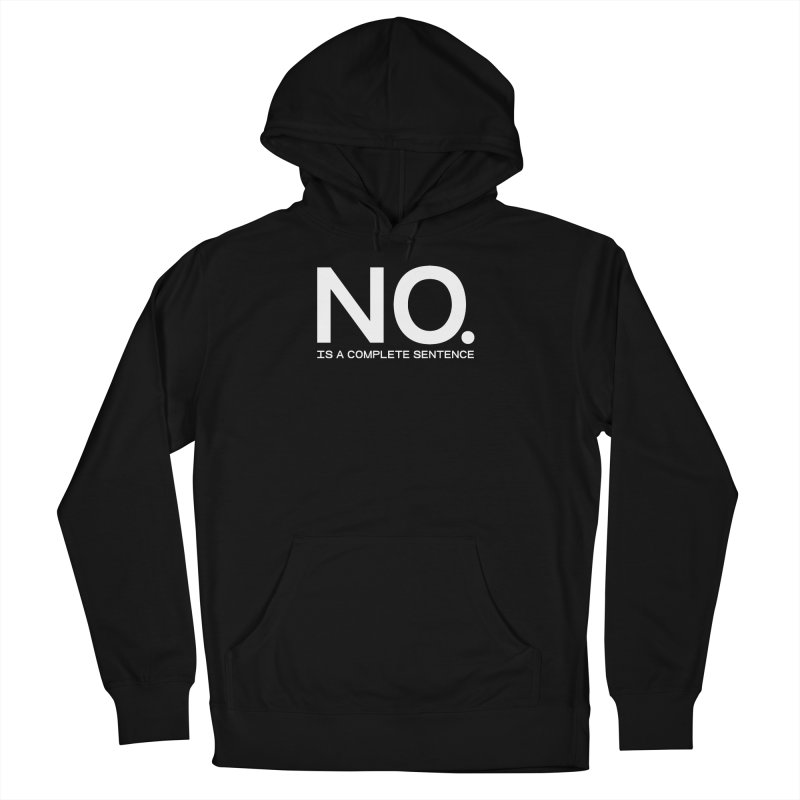 NO. Is a complete sentence.(wht lrg) Men's French Terry Pullover Hoody by VOID MERCH
