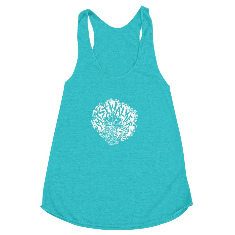 Tales From The Mists (D&D) Women's Racerback Triblend Tank by VOID MERCH