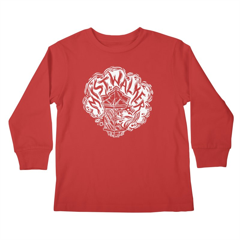 Tales From The Mists (D&D) Kids Longsleeve T-Shirt by VOID MERCH