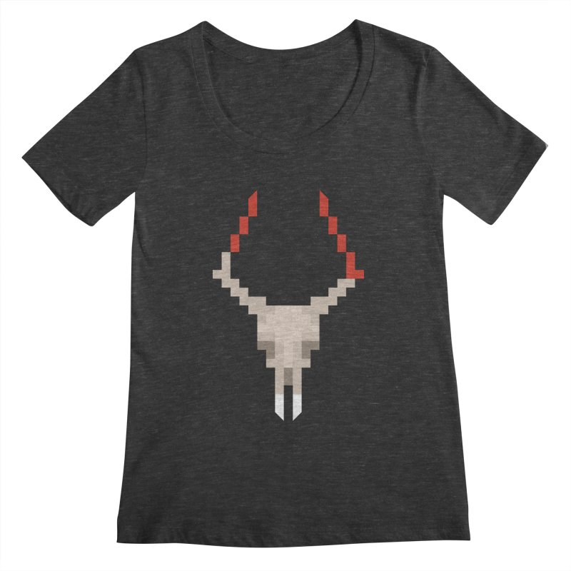 Vlad the Impala Women's Scoopneck by vojtech svec