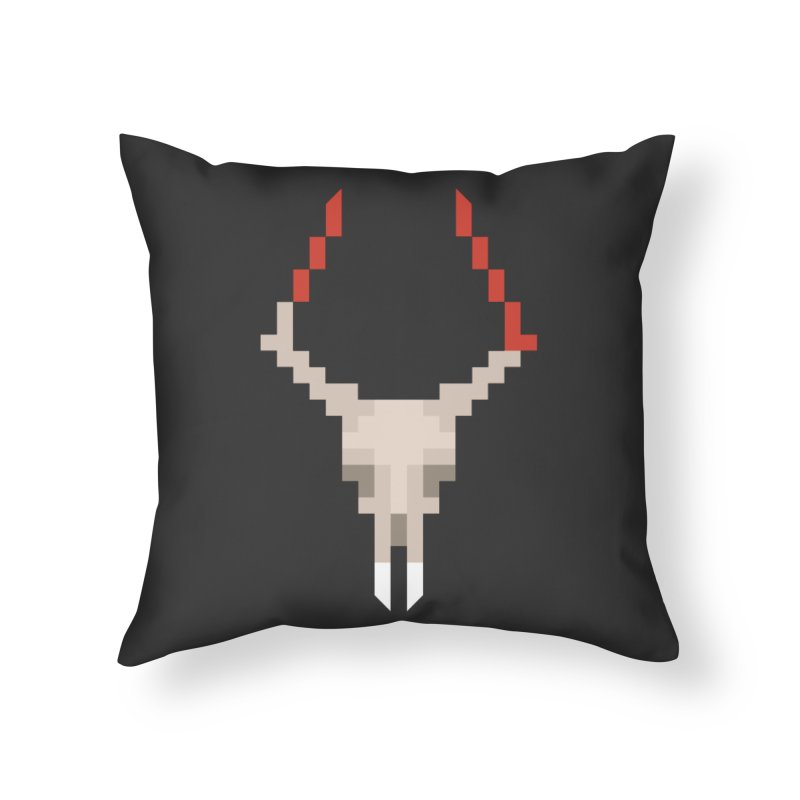 Vlad the Impala Home Throw Pillow by vojtech svec