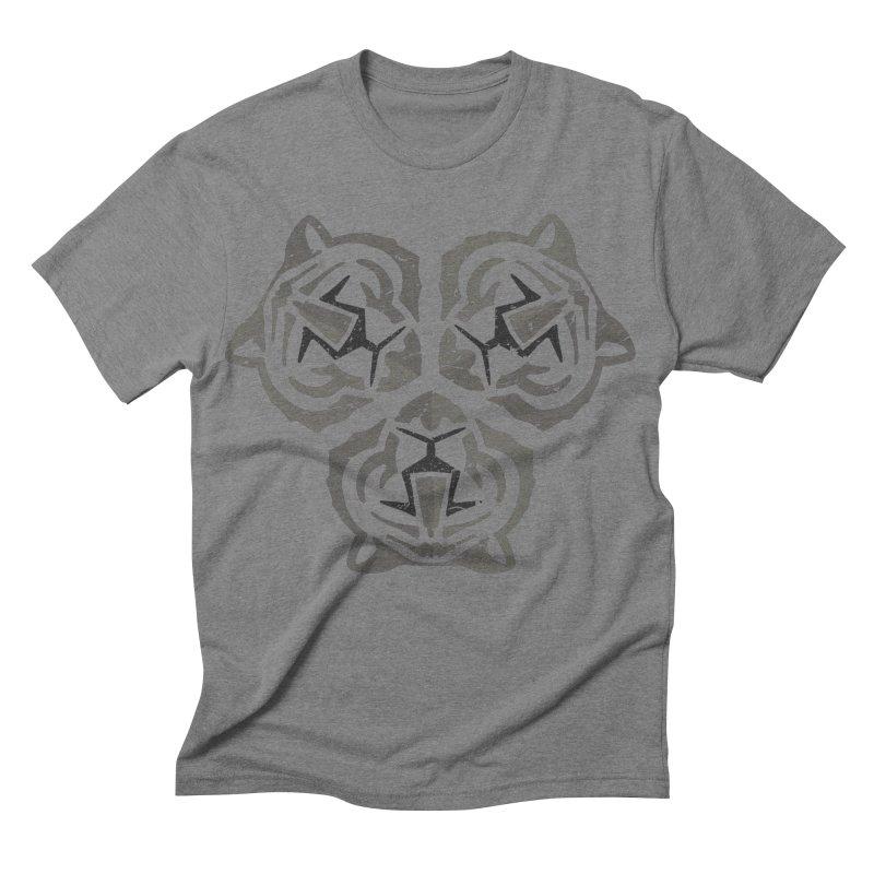 Tres Tristes Tigres Men's Triblend T-shirt by vojtech svec