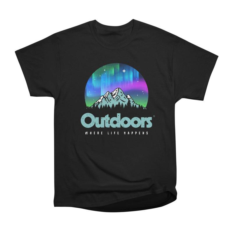 Outdoors Women's Heavyweight Unisex T-Shirt by Vó Maria's Artist Shop