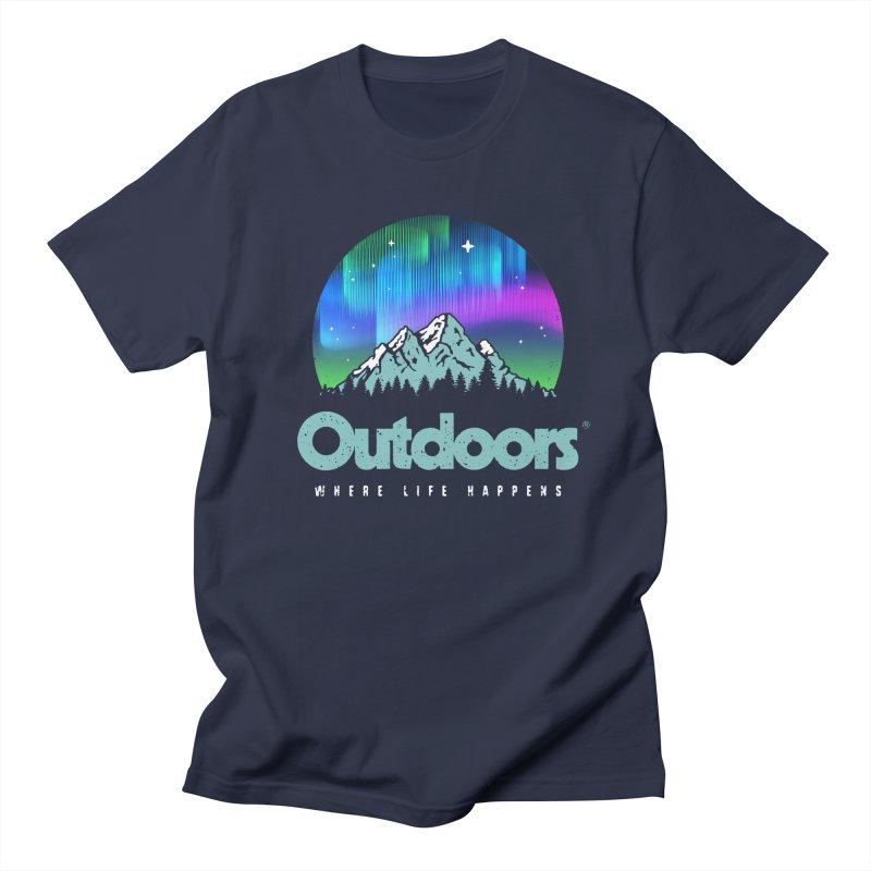 Outdoors Women's Regular Unisex T-Shirt by Vó Maria's Artist Shop