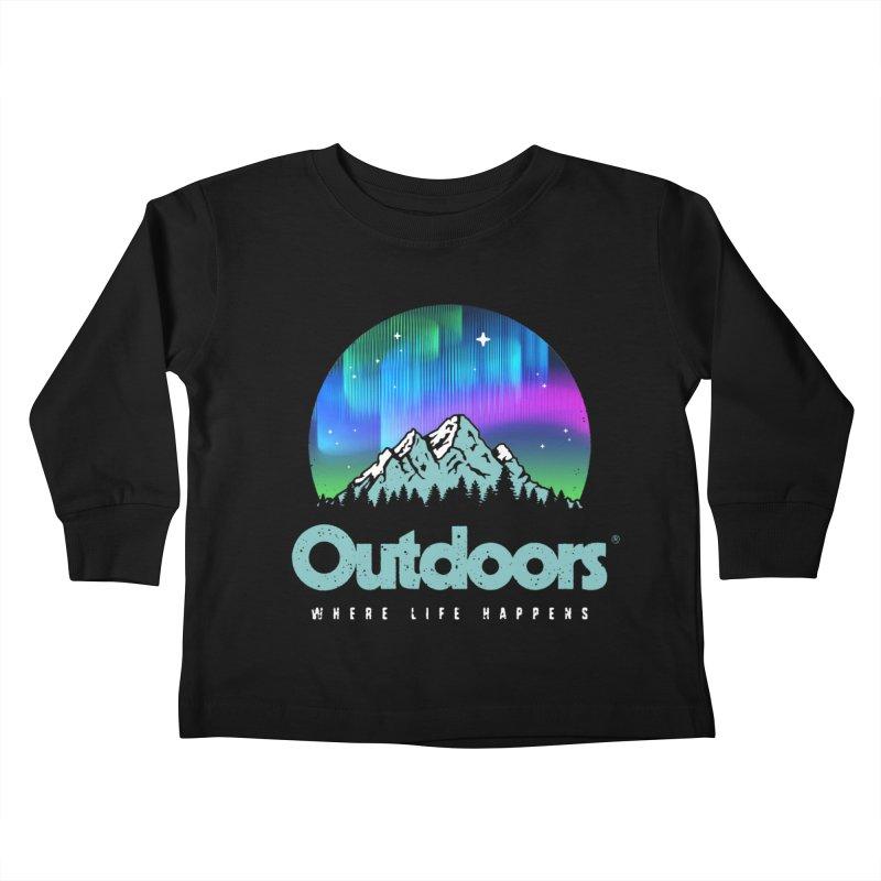 Outdoors Kids Toddler Longsleeve T-Shirt by Vó Maria's Artist Shop