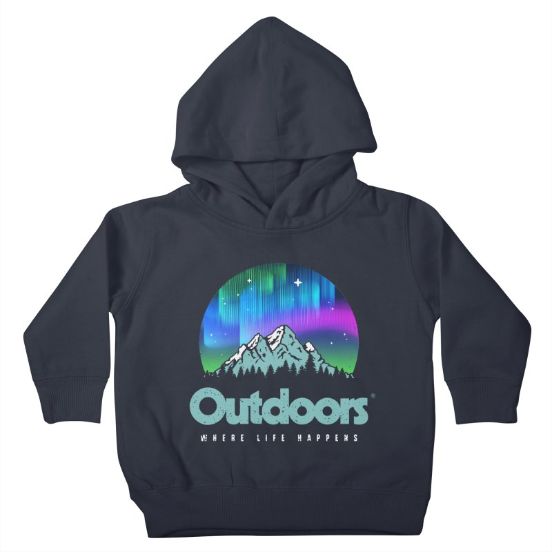 Outdoors Kids Toddler Pullover Hoody by Vó Maria's Artist Shop
