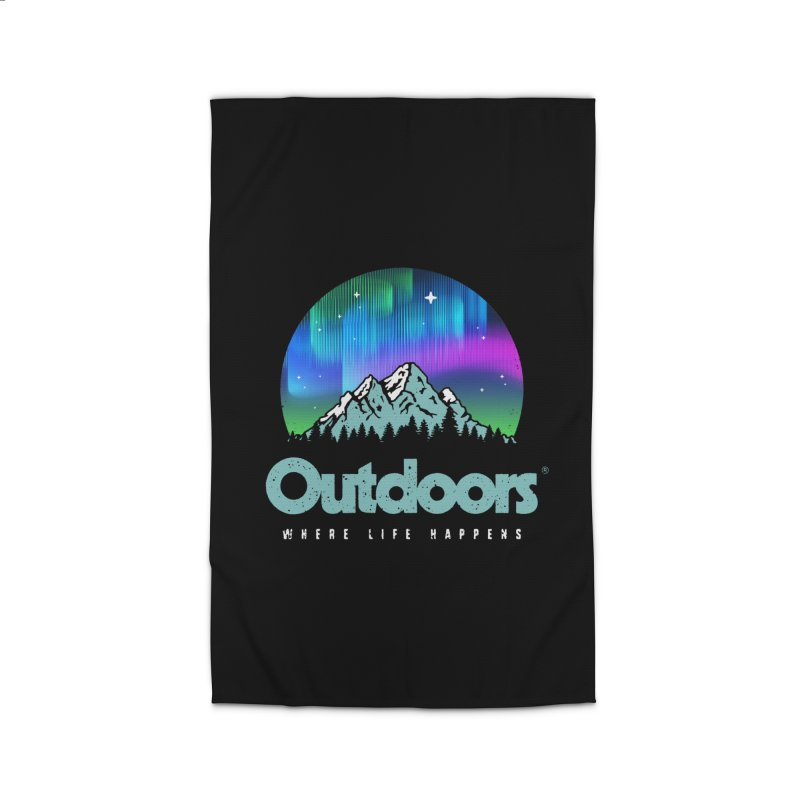 Outdoors Home Rug by Vó Maria's Artist Shop