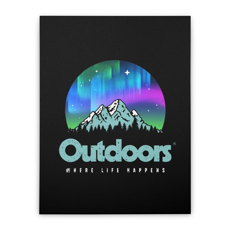 Outdoors Home Stretched Canvas by Vó Maria's Artist Shop