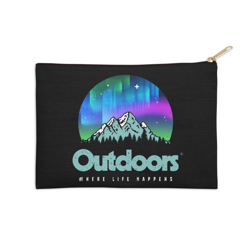 Outdoors Accessories Zip Pouch by Vó Maria's Artist Shop