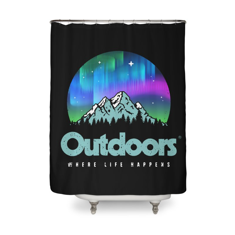 Outdoors Home Shower Curtain by Vó Maria's Artist Shop