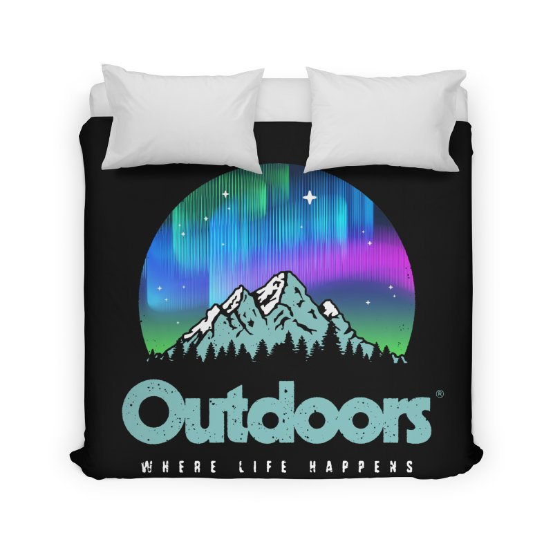 Outdoors Home Duvet by Vó Maria's Artist Shop
