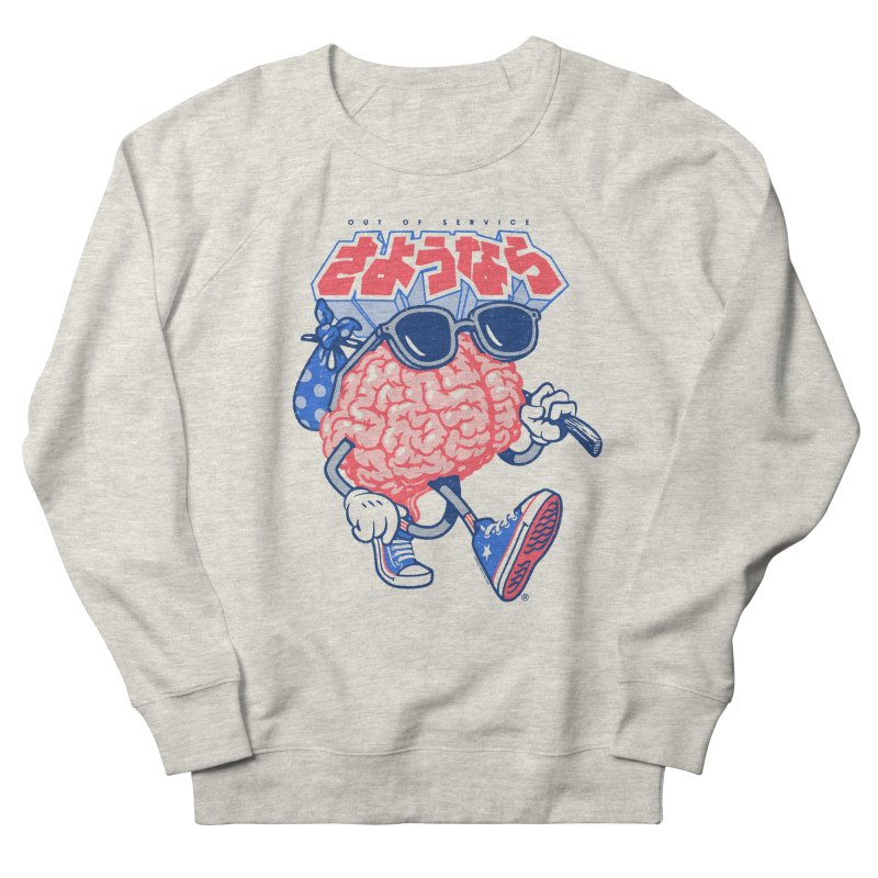 Sayonara Men's French Terry Sweatshirt by Vó Maria's Artist Shop