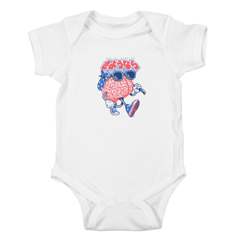 Sayonara Kids Baby Bodysuit by Vó Maria's Artist Shop