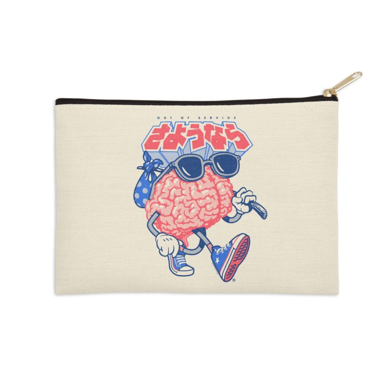 Sayonara Accessories Zip Pouch by Vó Maria's Artist Shop