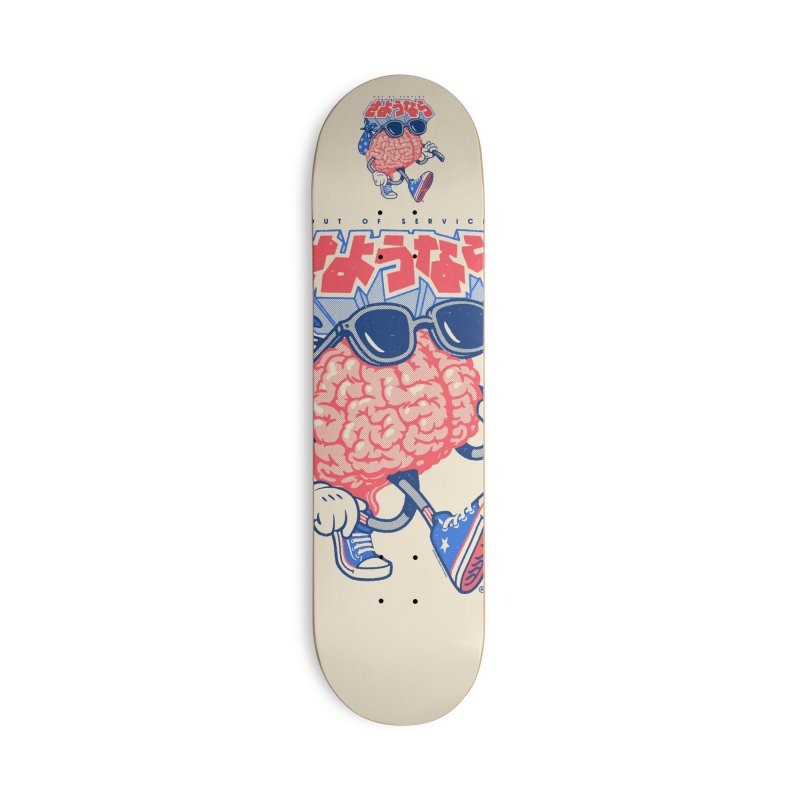 Sayonara Accessories Skateboard by Vó Maria's Artist Shop