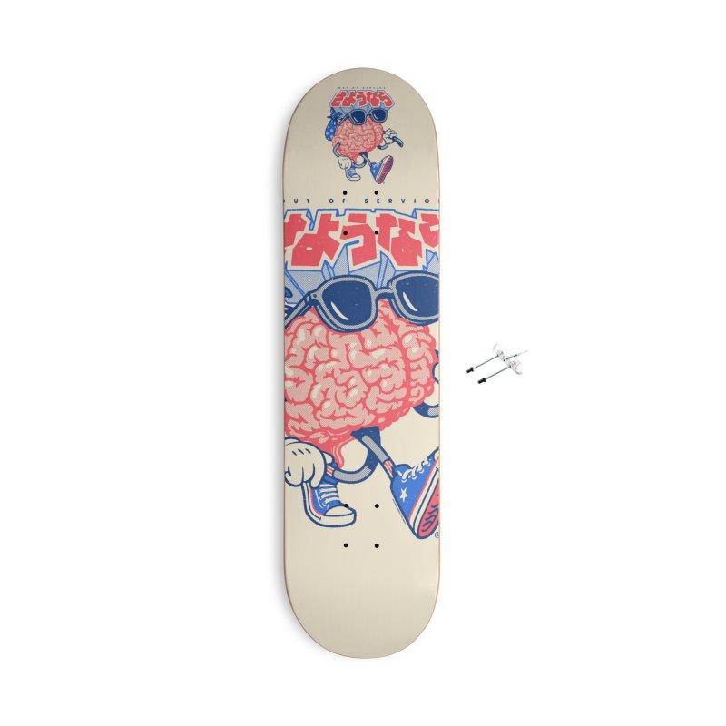 Sayonara Accessories Skateboard by Vó Maria's Artist Shop