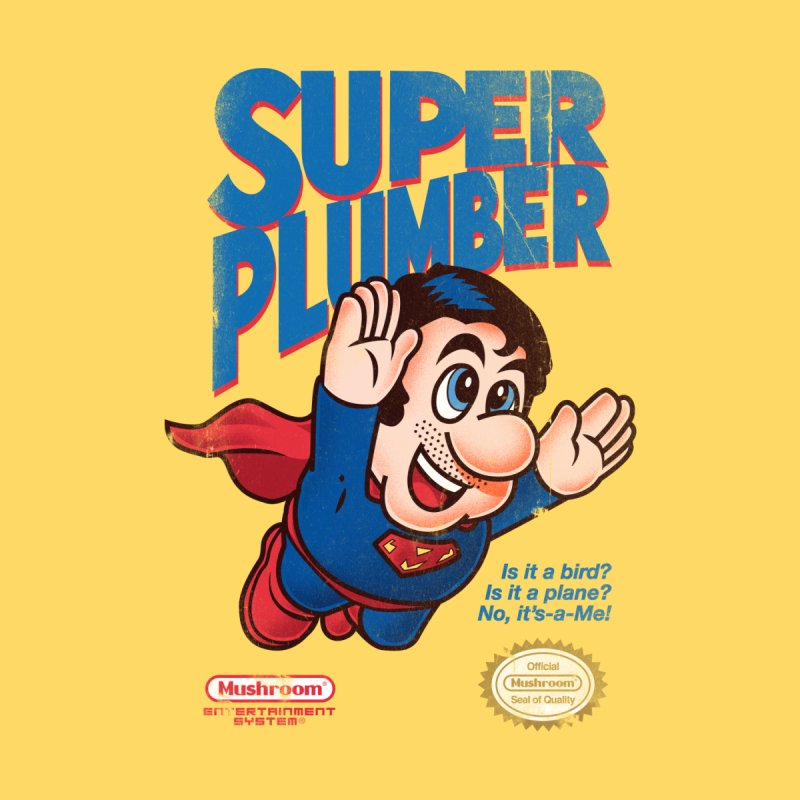 Super Plumber by Vó Maria's Artist Shop