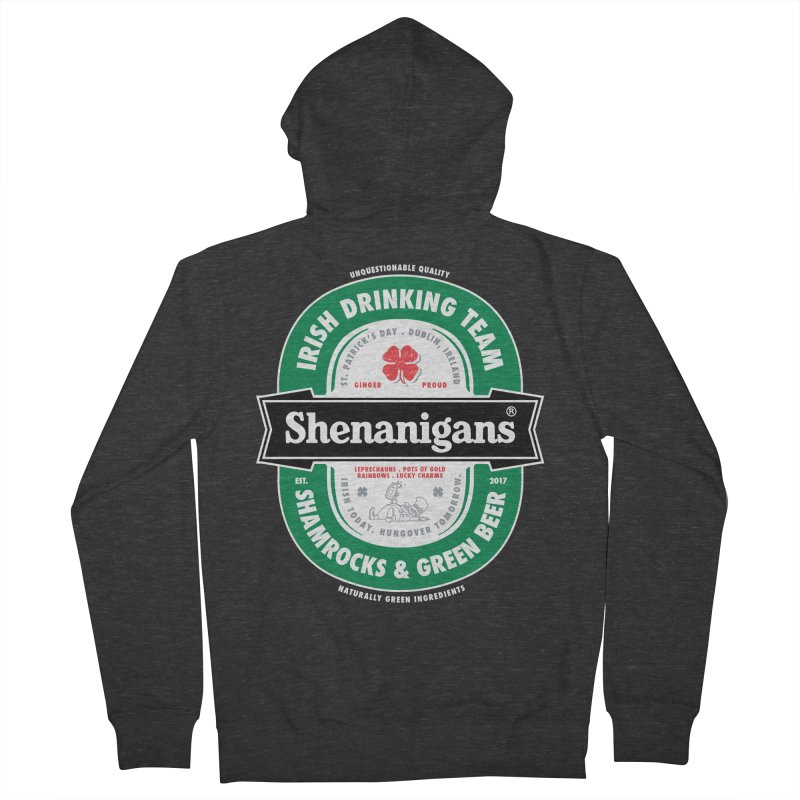 Shenanigans Beer Label   by Vó Maria's Artist Shop
