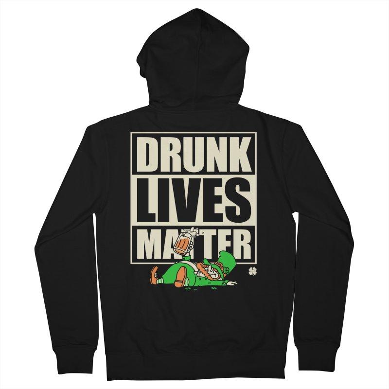 Drunk Lives Matter Women's Zip-Up Hoody by Vó Maria's Artist Shop