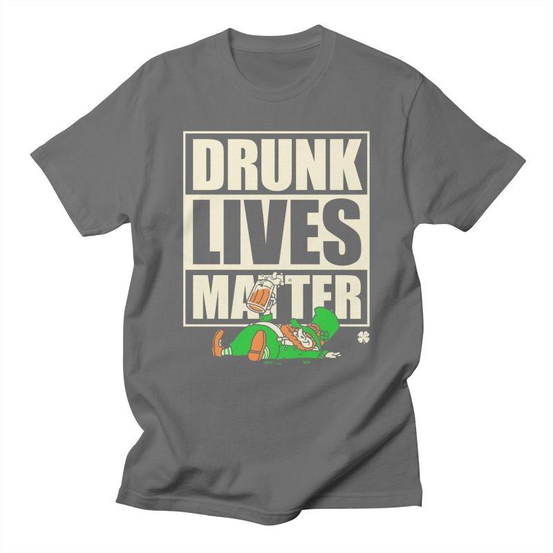 Drunk Lives Matter Men's T-shirt by Vó Maria's Artist Shop