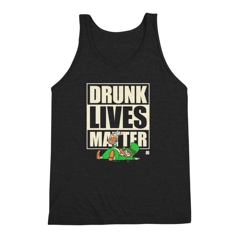 Drunk Lives Matter Men's Triblend Tank by Vó Maria's Artist Shop