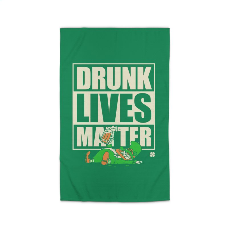 Drunk Lives Matter Home Rug by Vó Maria's Artist Shop