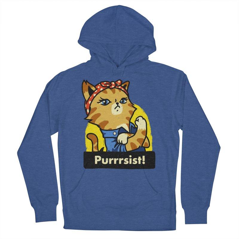 Purrrsist! (version 3) Men's Pullover Hoody by Vó Maria's Artist Shop