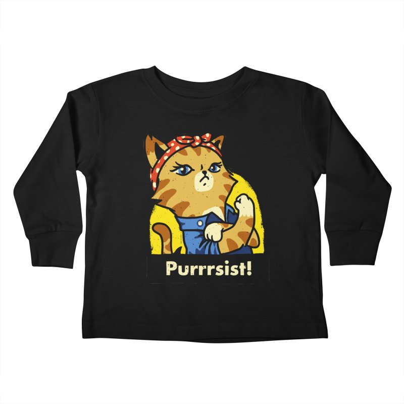 Purrrsist! (version 3)   by Vó Maria's Artist Shop