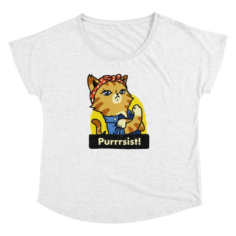 Purrrsist! (version 3)   by Vó Maria's Artist Shop