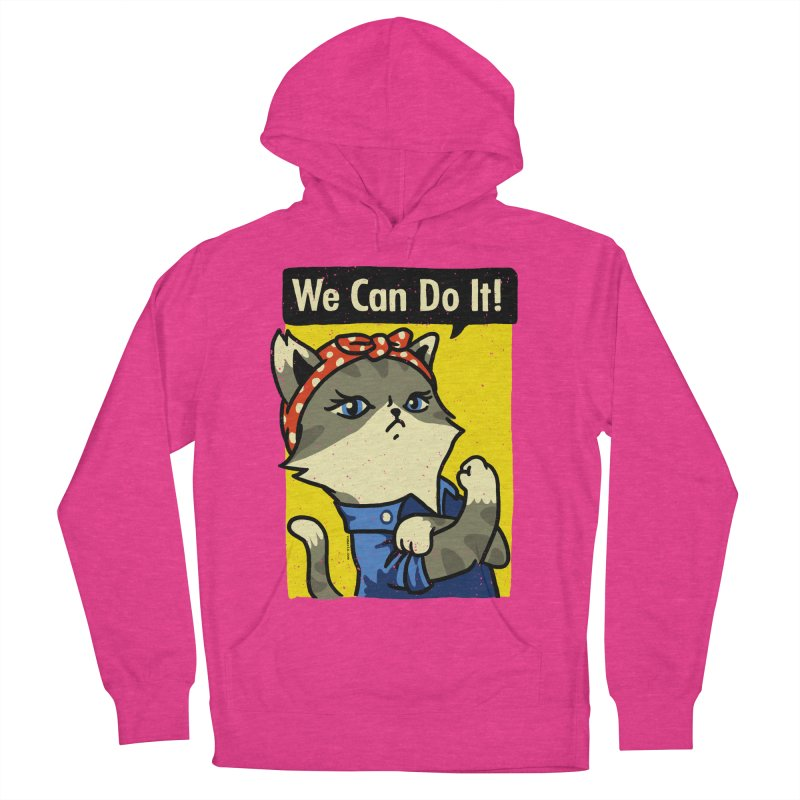 Purrsist! We Can Do It! Women's Pullover Hoody by Vó Maria's Artist Shop