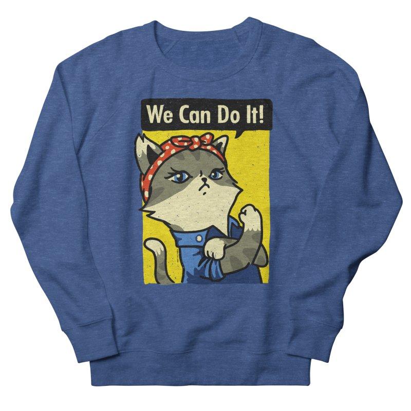 Purrsist! We Can Do It! Women's Sweatshirt by Vó Maria's Artist Shop