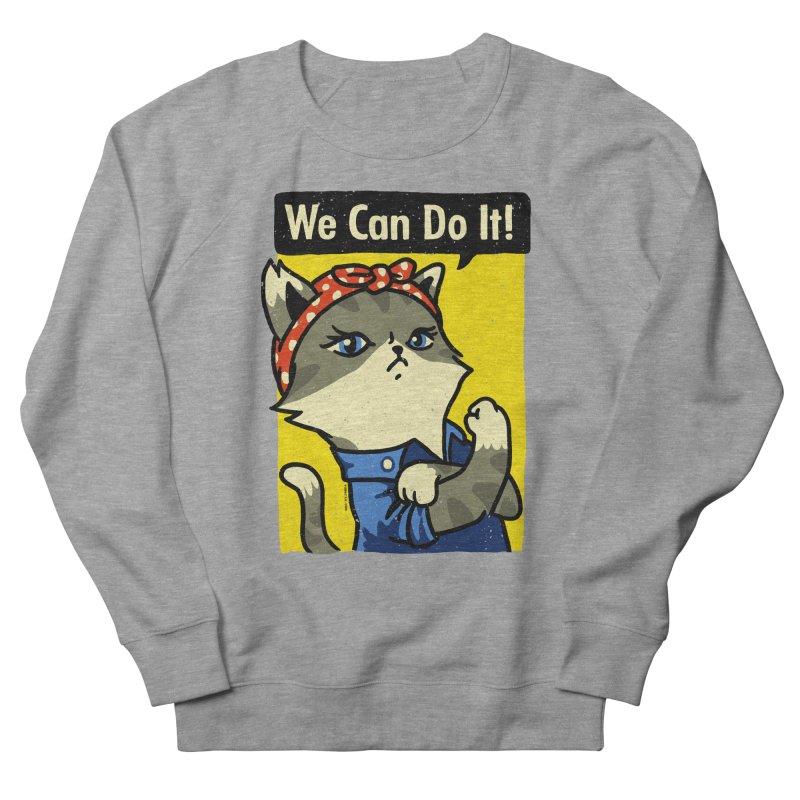 Purrsist! We Can Do It! Men's Sweatshirt by Vó Maria's Artist Shop