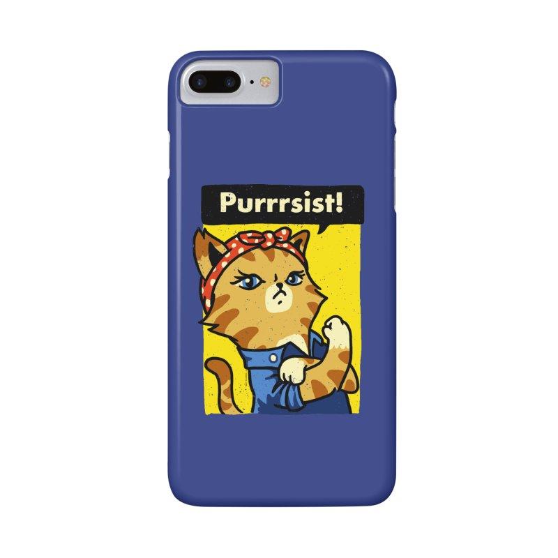 Purrrsist! Accessories Phone Case by Vó Maria's Artist Shop