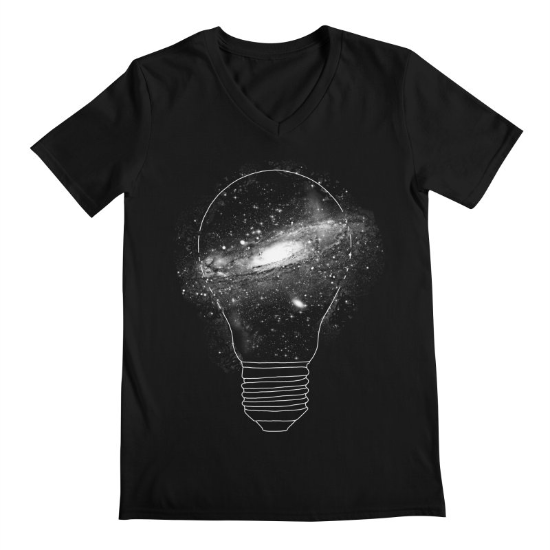 Sparkle - Unlimited Ideas Men's V-Neck by Vó Maria's Artist Shop