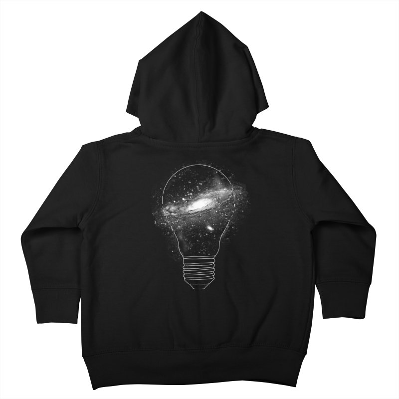 Sparkle - Unlimited Ideas Kids Toddler Zip-Up Hoody by Vó Maria's Artist Shop
