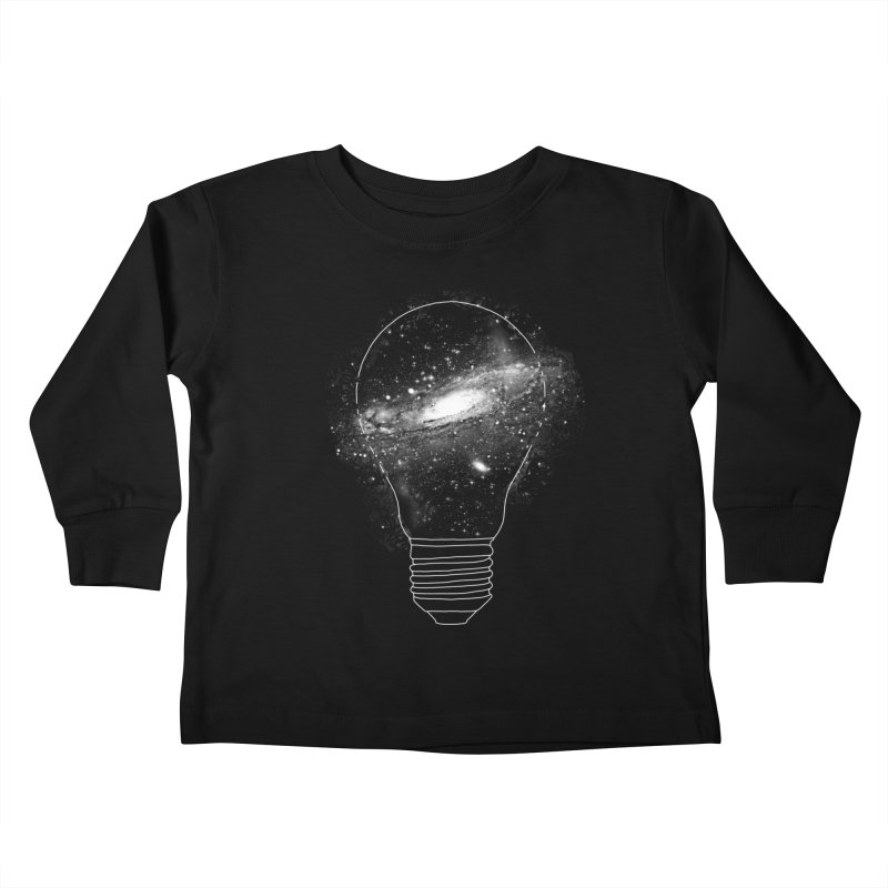 Sparkle - Unlimited Ideas Kids Toddler Longsleeve T-Shirt by Vó Maria's Artist Shop