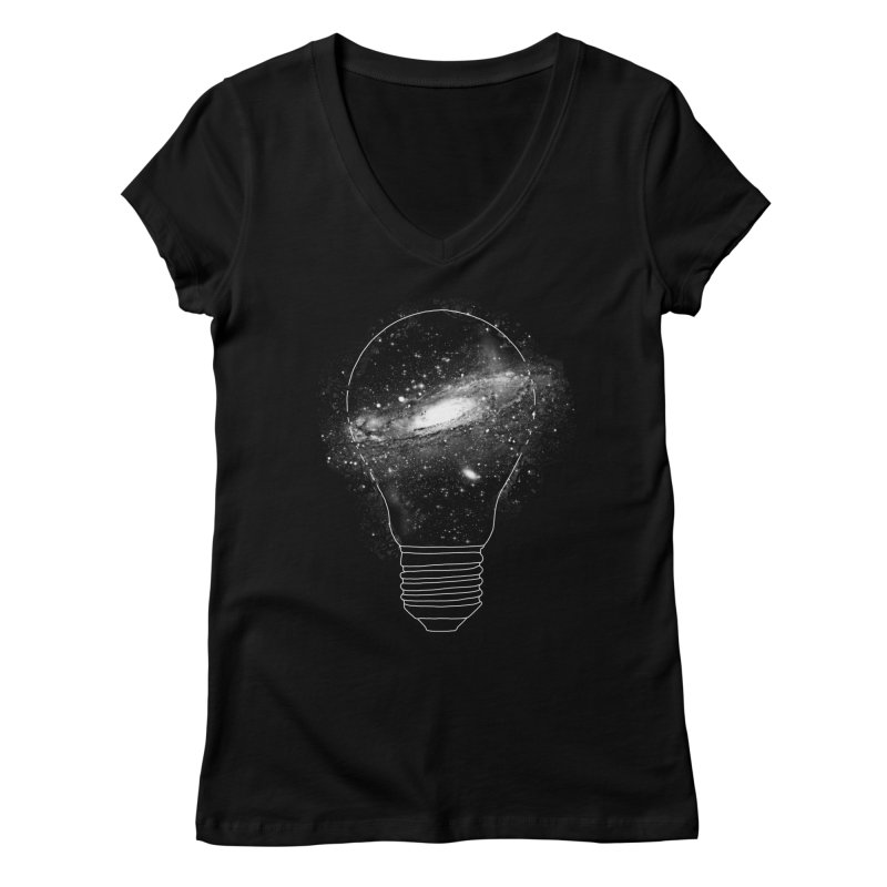 Sparkle - Unlimited Ideas Women's V-Neck by Vó Maria's Artist Shop