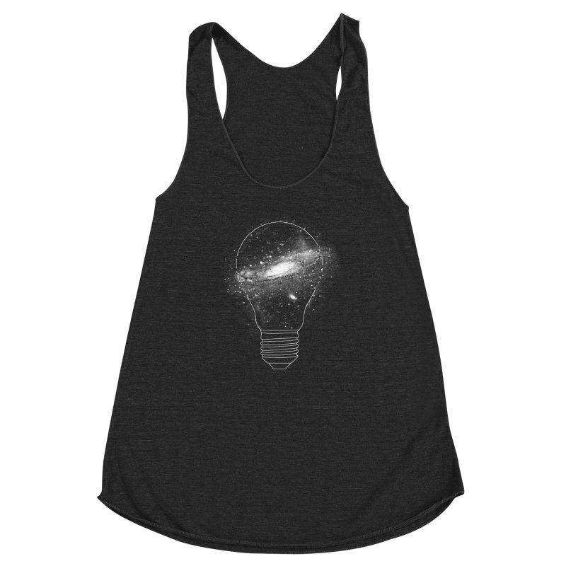 Sparkle - Unlimited Ideas Women's Racerback Triblend Tank by Vó Maria's Artist Shop