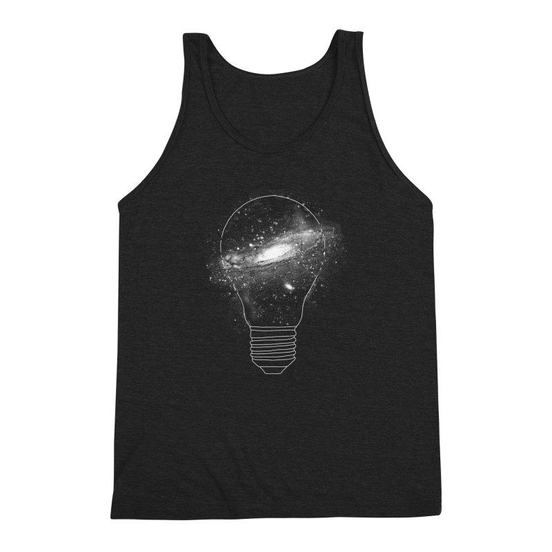Sparkle - Unlimited Ideas Men's Triblend Tank by Vó Maria's Artist Shop