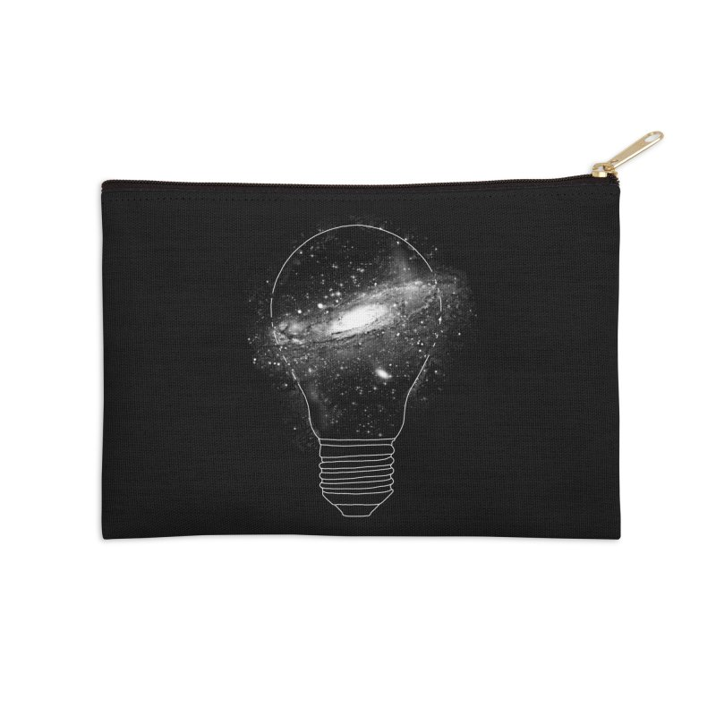 Sparkle - Unlimited Ideas Accessories Zip Pouch by Vó Maria's Artist Shop