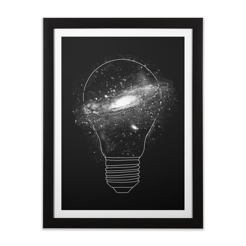 Sparkle - Unlimited Ideas Home Framed Fine Art Print by Vó Maria's Artist Shop