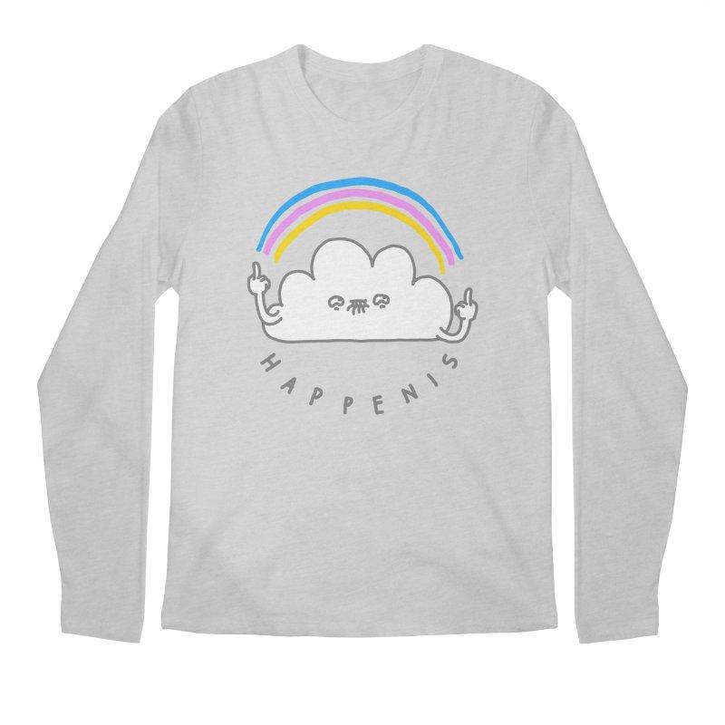 Happenis Men's Longsleeve T-Shirt by Vó Maria's Artist Shop