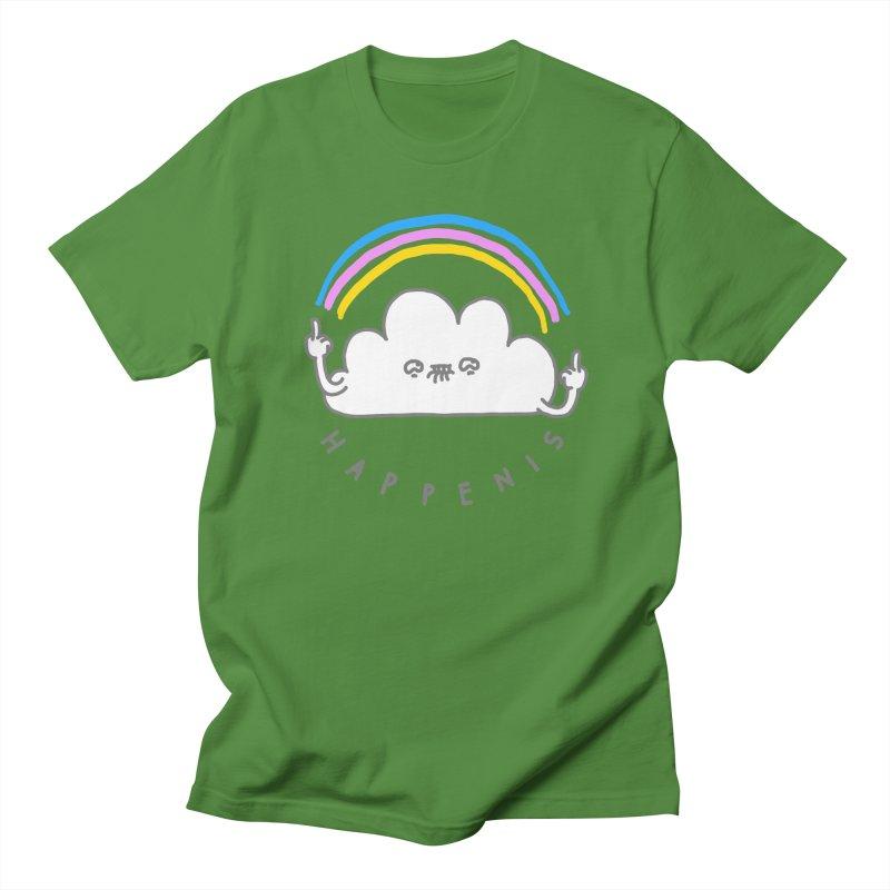 Happenis Women's Unisex T-Shirt by Vó Maria's Artist Shop
