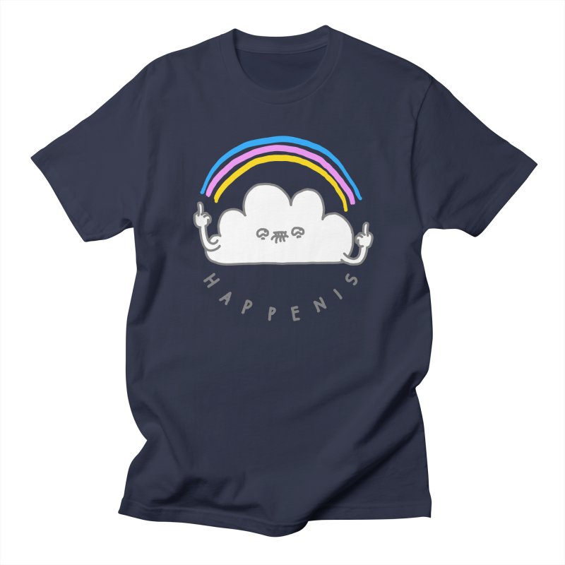 Happenis Men's T-shirt by Vó Maria's Artist Shop