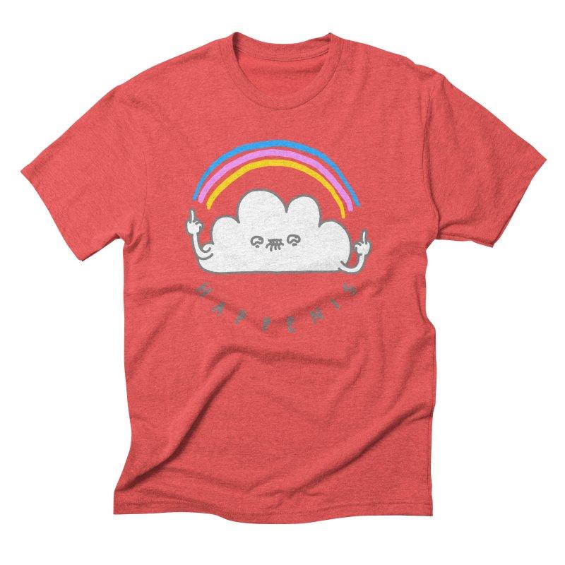 Happenis Men's Triblend T-shirt by Vó Maria's Artist Shop