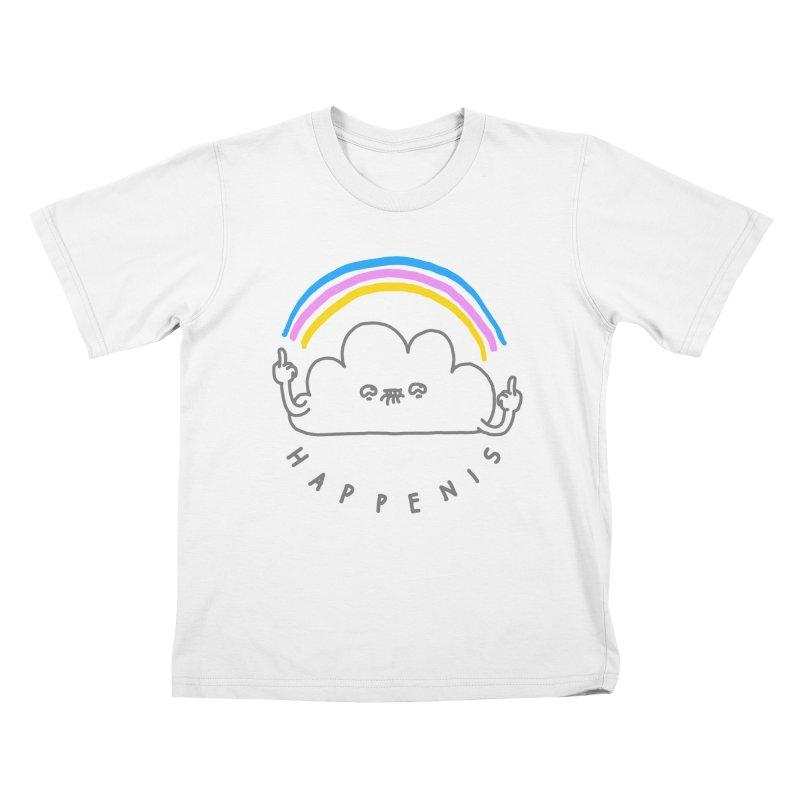 Happenis Kids T-shirt by Vó Maria's Artist Shop
