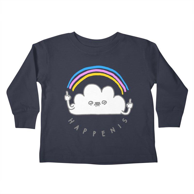 Happenis Kids Toddler Longsleeve T-Shirt by Vó Maria's Artist Shop